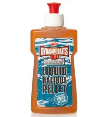 Dynamite Baits Liquid XL Halibut Pellet 250 ml (karton 6 ks)