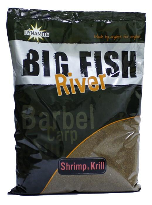 Dynamite Baits Groundbait Big Fish River Shrimp&Krill 1,8 kg