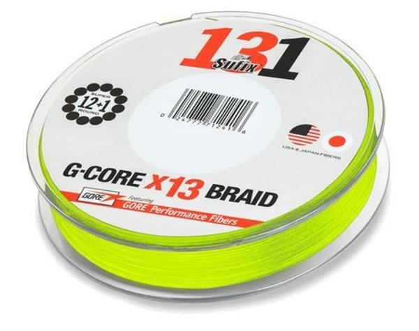 Sufix 131 G-CORE 150 m svítivě zelená