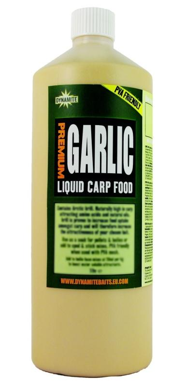 Dynamite Baits Liquid Carp Food Garlic 1 l