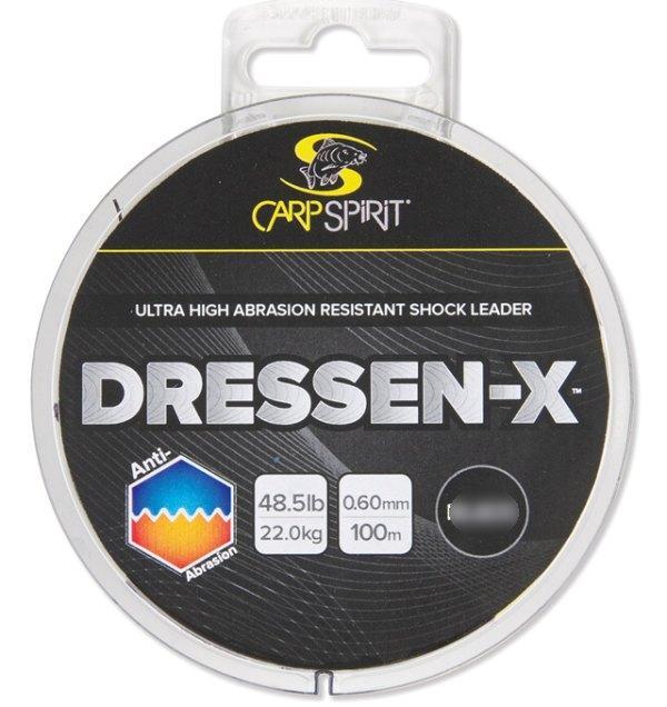 Carp Spirit Dressen-X 100 m/0,50 mm/15,70 kg/35 lb černý