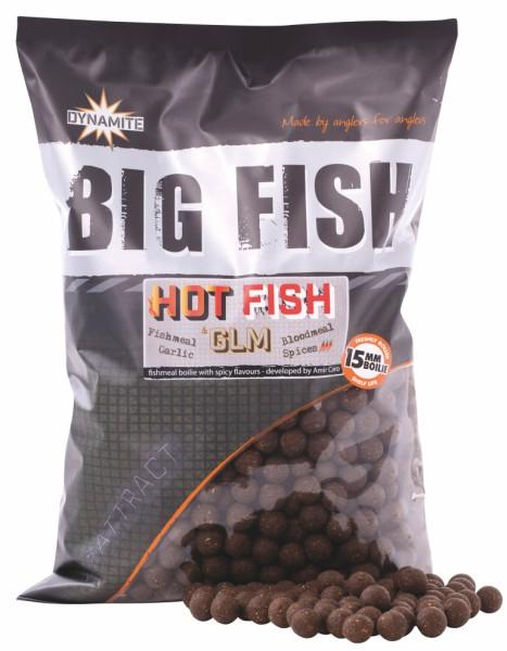 Dynamite Baits Boilies Big Fish Hot Fish&GLM 20 mm 1,8 kg