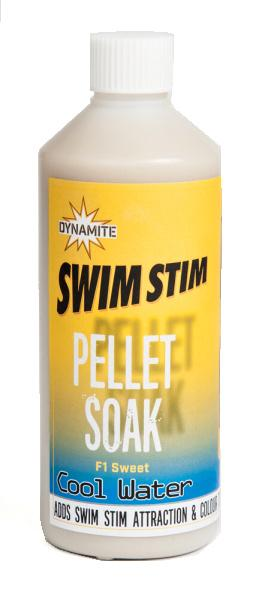 Dynamite Baits Pellet Soak Swim Stim F1 Sweet Cool Water 500 ml