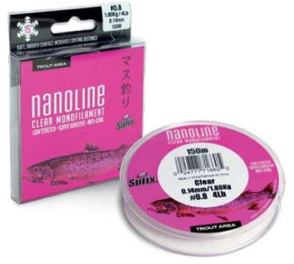 Sufix Nanoline 100 m/150 m čirý