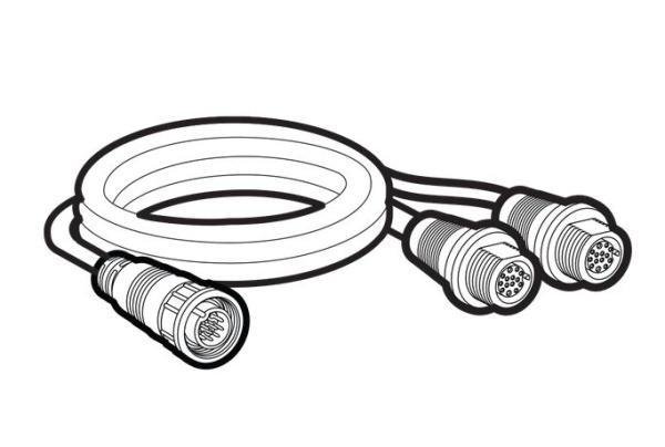 Humminbird kabel rozdvojovací 14 M SIDB Y Cable (SOLIX, ONIX & ION)