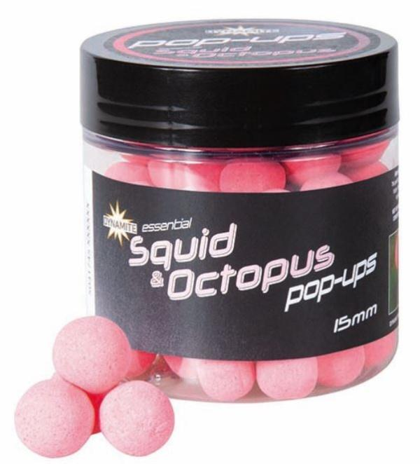 Dynamite Baits Pop-Up Fluro Squid&Octopus 15 mm