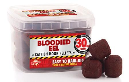 Dynamite Baits Pellets Bloodied Eel Catfish Hook 30mm