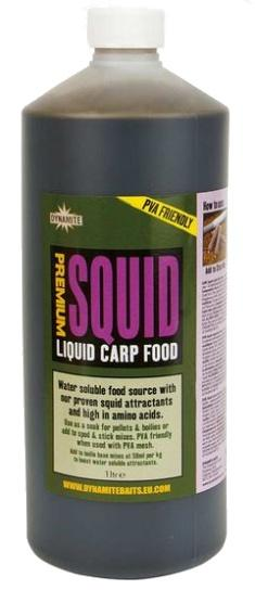 Dynamite Baits Liquid Carp Food Squid 1 l