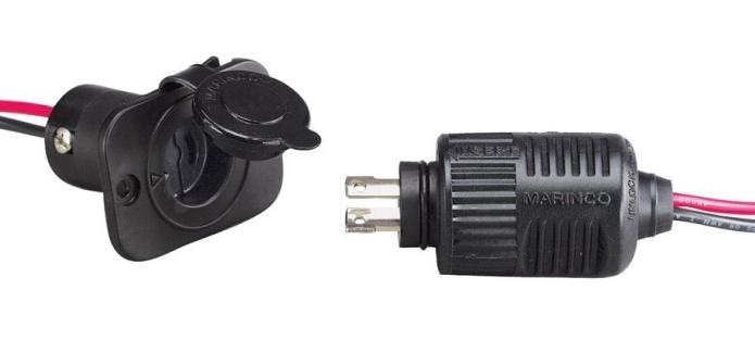 2-Wire ConnectPro Plug&Receptacle Combo 12/24/36 V