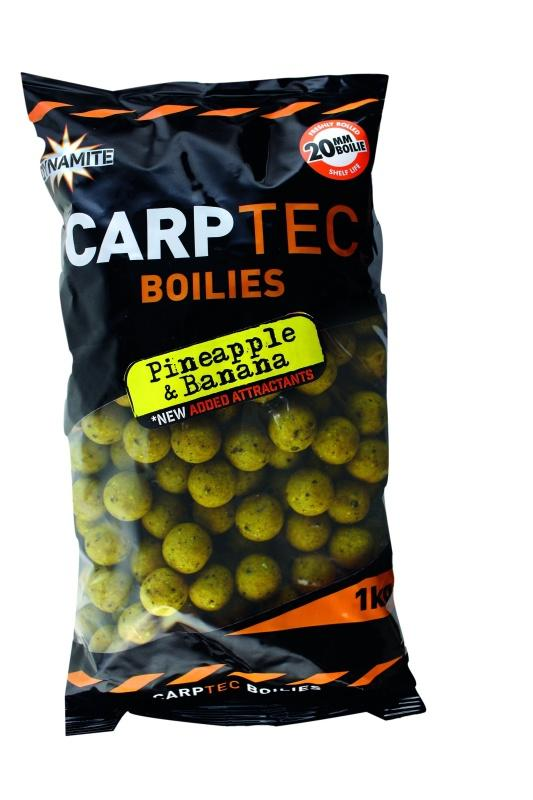 Dynamite Baits Boilies CarpTec Pineapple&Banana 20 mm /1 kg