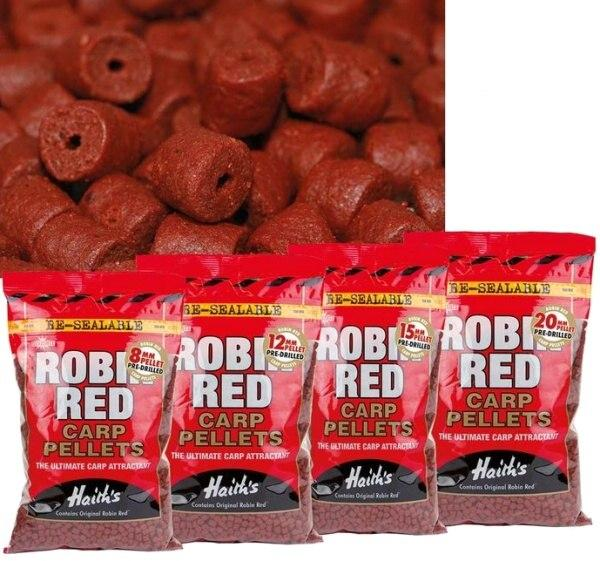 Dynamite Baits Pellets Robin Red Pre-Drilled 12 mm 900 g