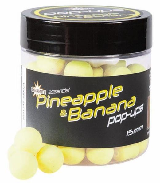 Dynamite Baits Pop-Ups Fluro Pineapple&Banana 15 mm