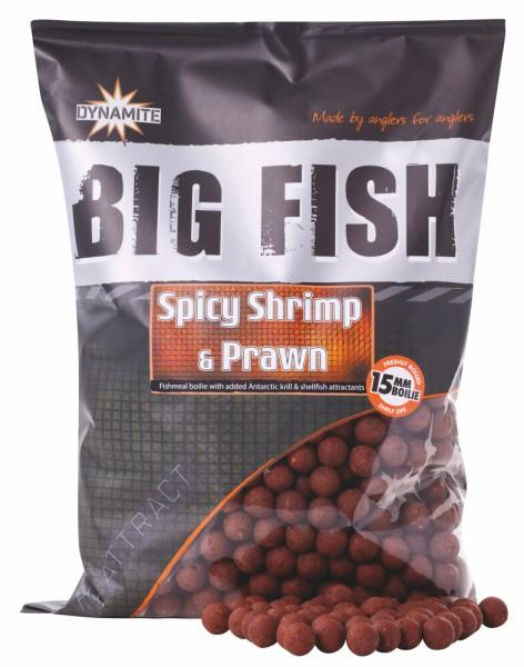 Dynamite Baits Boilies Big Fish Spicy Shrimp&Prawn 20 mm 1,8 kg