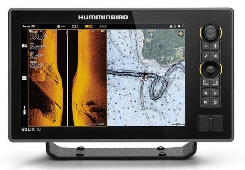 Humminbird SOLIX 10 CHIRP MSI+ GPS G3