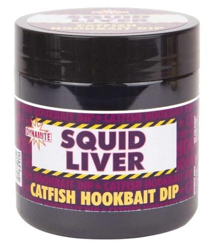 Dynamite Baits Hookbait Dip Squid Liver 200 ml (karton 6 ks)