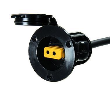 Cannon zásuvka, černá Power Port Black