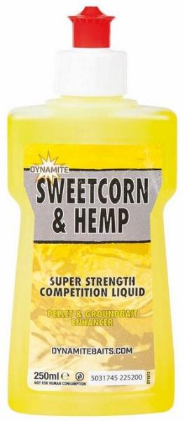 Dynamite Baits Liquid XL Sweetcorn&Hemp 250ml