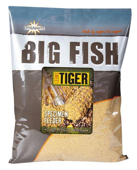Dynamite Baits Groundbait Big Fish River Specimen Feeder Sweet Tiger 1,8 kg