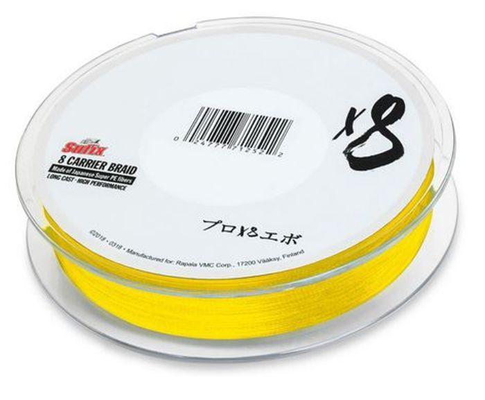 Sufix X8 Braid 150 m žlutá