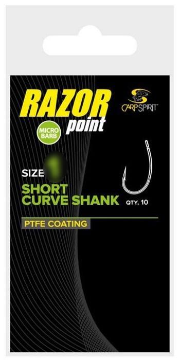 Carp Spirit Short Curve Shank 8, 10 ks