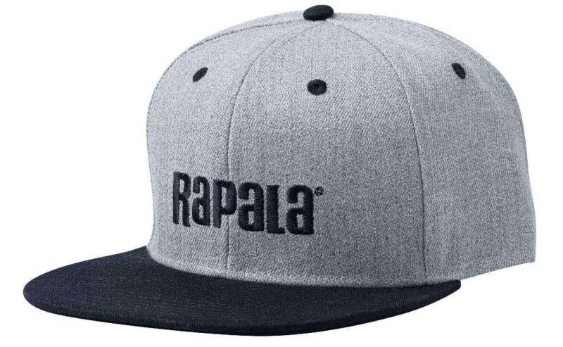 Rapala Cap Flat Brim Grey/Black