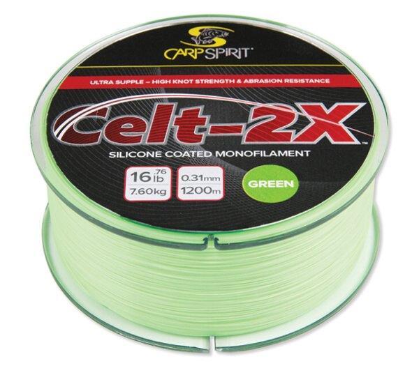 Carp Spirit Celt 2X Mymetik 1200 m/0,31 mm/7,6 kg zelený
