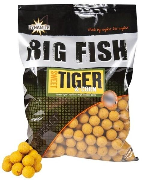 Dynamite Baits Boilies Big Fish Sweet Tiger&Corn 15 mm 1,8 kg
