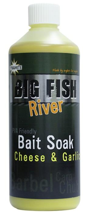 Dynamite Baits Bait Soak Big Fish River Cheese&Garlic 500 ml