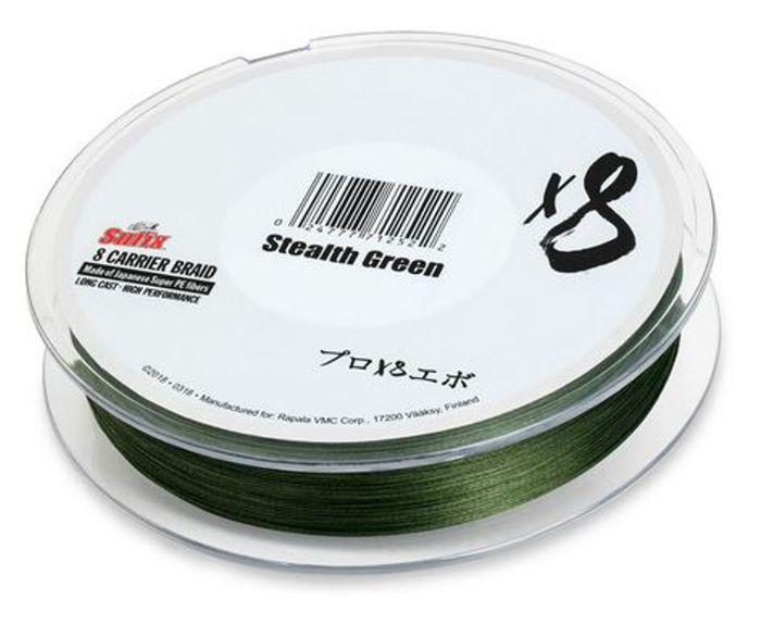 Sufix X8 Braid 150 m tmavě zelená