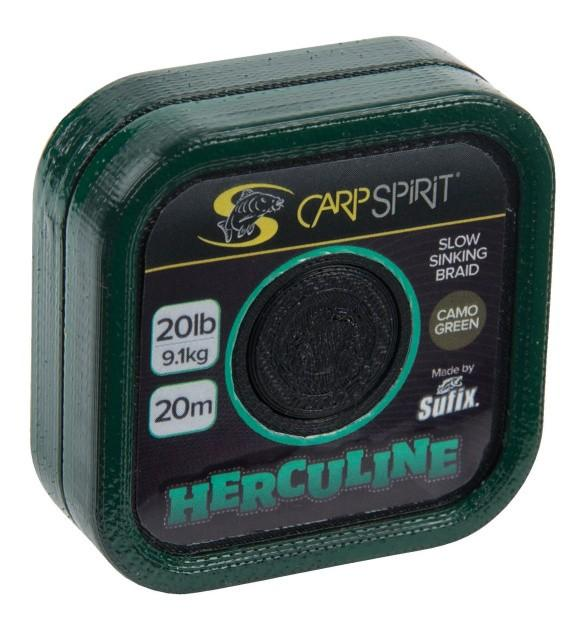 Carp Spirit Herculine Braid 20 m/6,8 kg/15 lb maskovací zelená