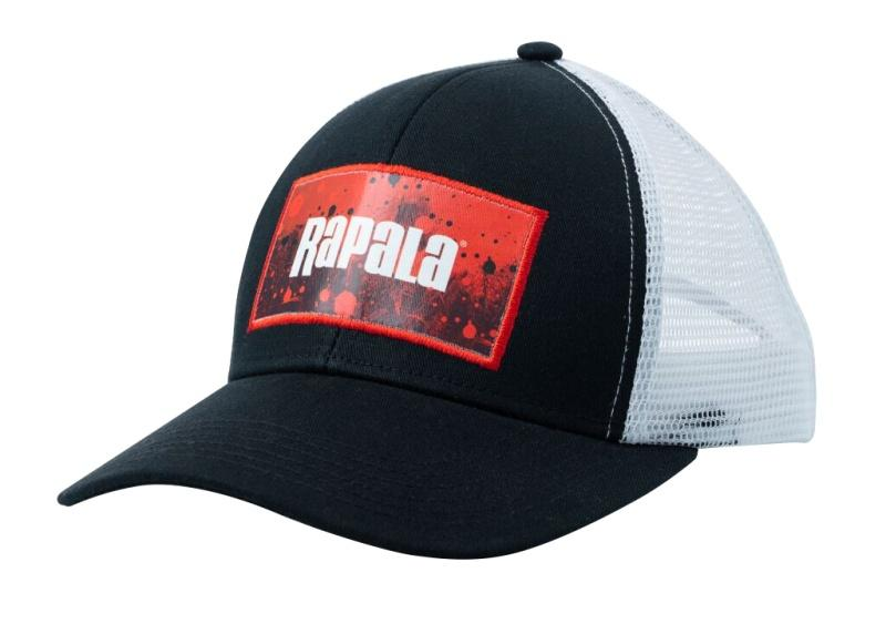 Rapala Cap Splash Trucker Black/Red