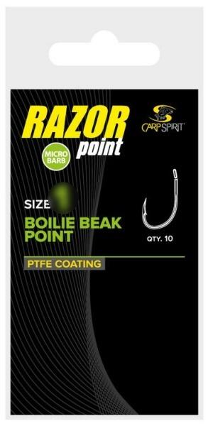 Carp Spirit Hook Boilie Beak Point 6, 10 ks