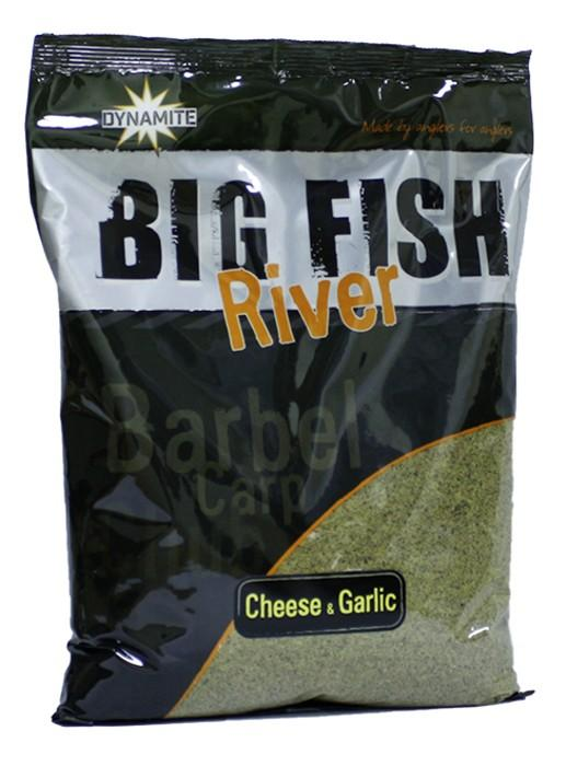 Dynamite Baits Groundbait Big Fish River Cheese&Garlic 1,8 kg