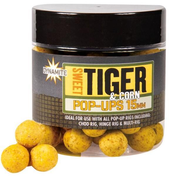 Dynamite Baits Pop-Ups Sweet Tiger&Corn 15 mm