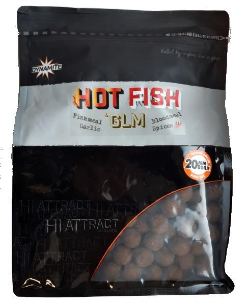 Dynamite Baits Boilies Hot Fish&GLM 20 mm 1 kg